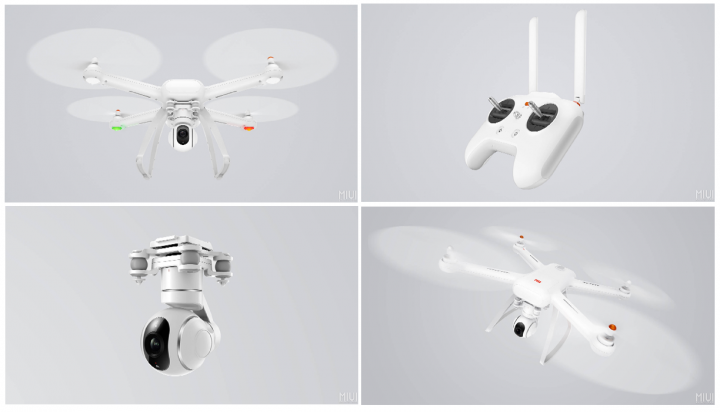 Imagen - Xiaomi Mi Drone, un dron capaz de grabar vídeo en 4K por menos de 450 euros