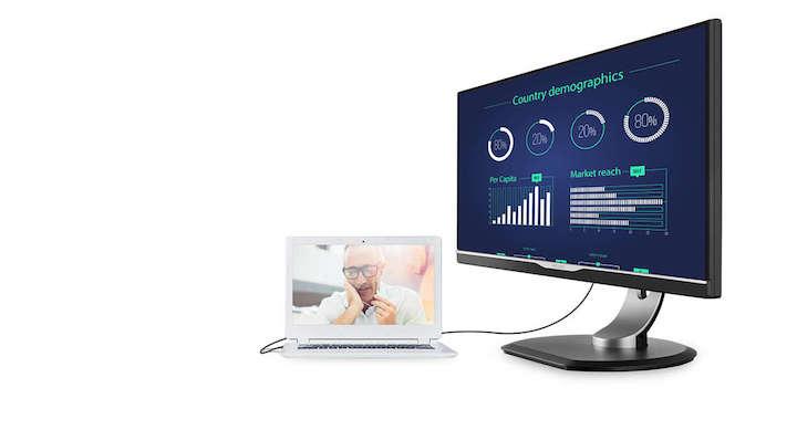 Imagen - Philips lanza al mercado su primer monitor con USB Tipo-C