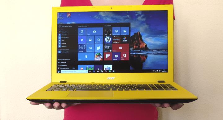 Review: Acer Aspire E 15, un portátil con un gran diseño a buen precio