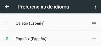 Imagen - Cómo configurar tu Android en gallego, catalán o euskera