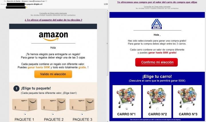 Imagen - Cuidado con los cupones regalo de Amazon y Aldi