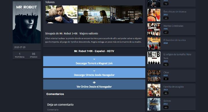 """Imagen - """"Borracho de Torrent"""", una nueva página para descargar torrents en español"""