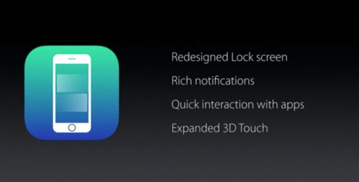 Imagen - iOS 10 se presenta oficialmente, estas son sus novedades
