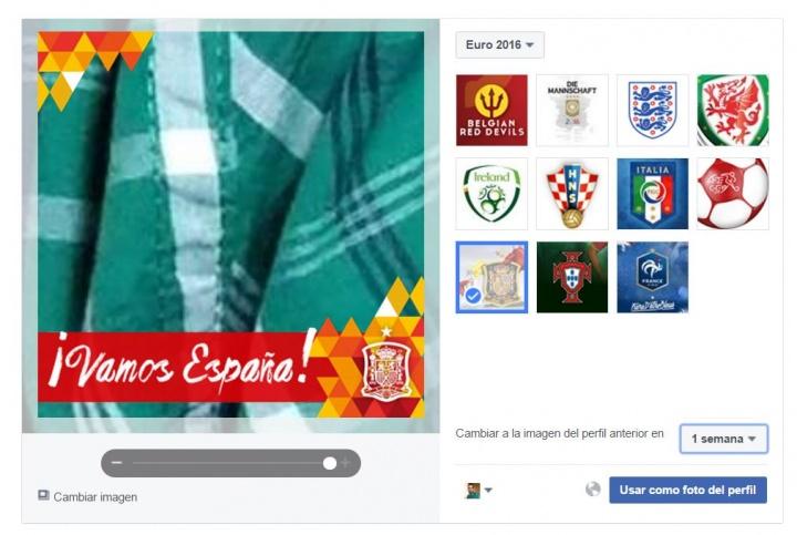 Imagen - Cambia tu foto de Facebook para apoyar a la Selección Española de Fútbol