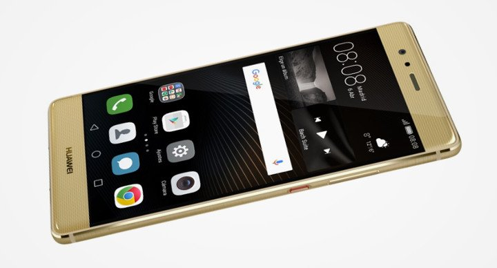 Huawei P9 Plus Gold, en exclusiva con Vodafone