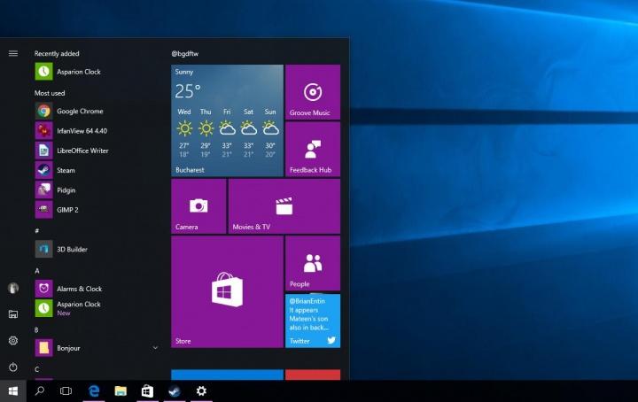 Imagen - Windows 10 rediseñará el menú Inicio