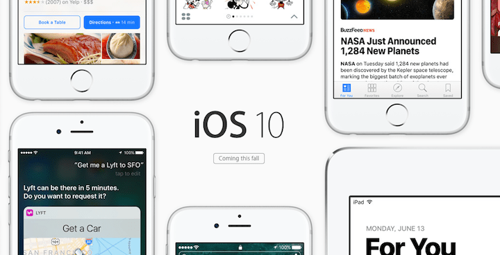 Cómo instalar la beta pública de iOS 10