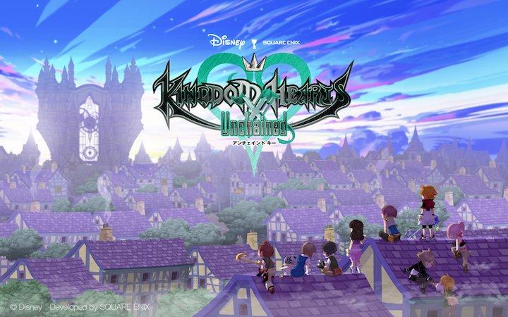 Kingdom Hearts Unchained X ya disponible en App Store y Google Play