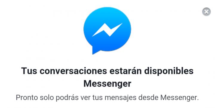 Imagen - Facebook eliminará el chat en la versión móvil para que instales Messenger