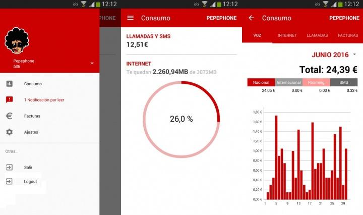 Imagen - Descarga la nueva app de Pepephone para Android