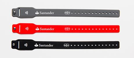 Imagen - Banco Santander lanza una pulsera para realizar pagos contactless