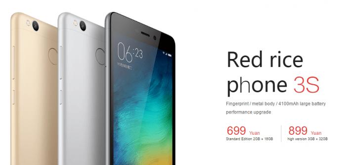 Imagen - Xiaomi Redmi 3S ya es oficial: conoce sus especificaciones
