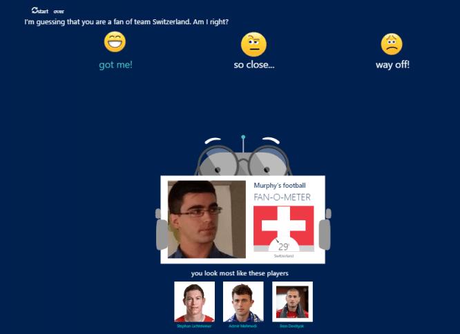 Imagen - Un nuevo bot de Microsoft te adivina de qué selección de fútbol eres