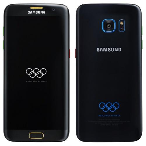 Imagen - Filtrado el Samsung Galaxy S7 Edge inspirado en los Juegos Olímpicos 2016