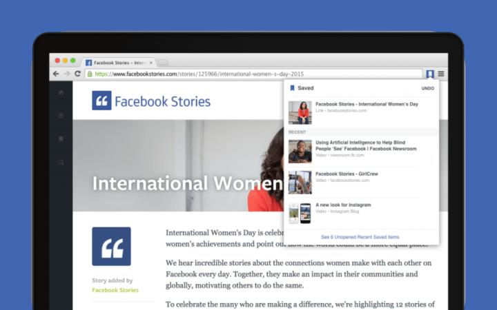 Imagen - Facebook ya tiene extensiones para Chrome
