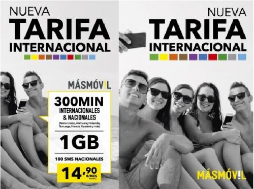 Imagen - MásMóvil lanza una tarifa internacional con la llegada del verano