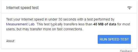 Imagen - Google tendrá un test de velocidad