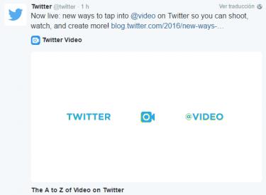 Imagen - Twitter ya permite vídeos de hasta 140 segundos