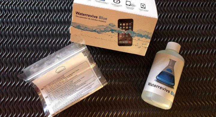 Probamos Waterrevive Blue, un kit para recuperar móviles mojados