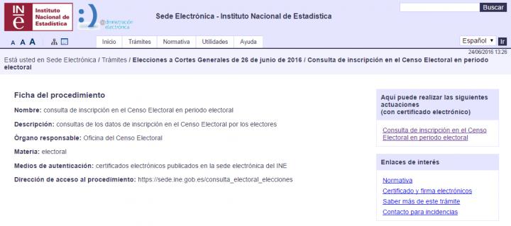 Imagen - Consulta online tu colegio electoral para el 26-J