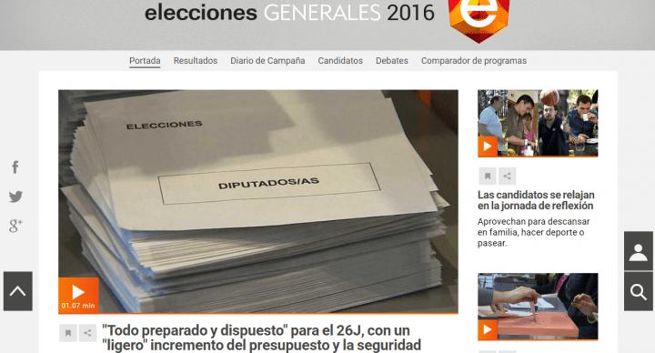 Imagen - Cómo seguir los resultados de las elecciones del 26-J