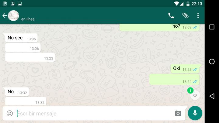 Imagen - WhatsApp beta incluye un contador de mensajes no leídos en los chats