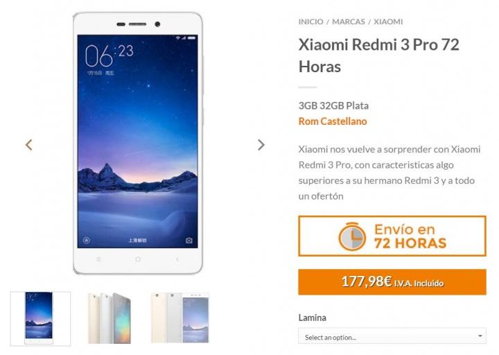 Imagen - 5 tiendas dónde comprar el Xiaomi Redmi 3 Pro
