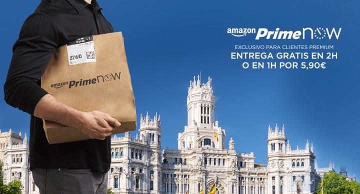 Con este código puedes conseguir 20 euros de descuento en Amazon Prime Now