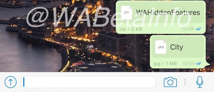 Imagen - WhatsApp permitirá compartir todo tipo de archivos