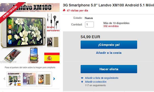 Imagen - Dónde comprar el Landvo XM100