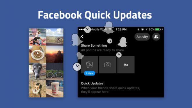 Imagen - Quick Updates, el Snapchat que prepara Facebook