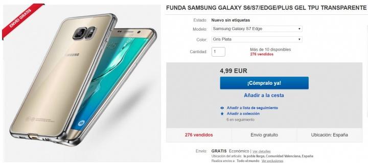 Imagen - 5 fundas para el Samsung Galaxy S7 Edge