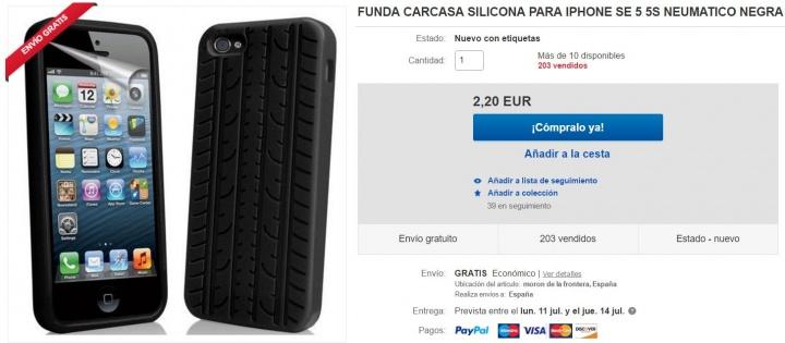 Imagen - 5 fundas para el iPhone SE por menos de 10 euros