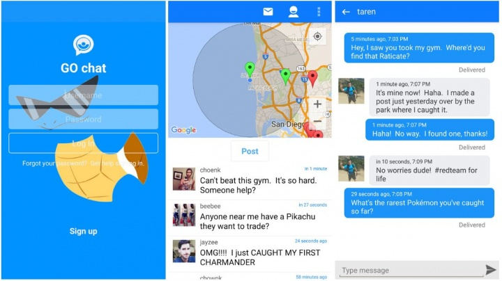 Imagen - Go Chat, el WhatsApp para Pokémon Go