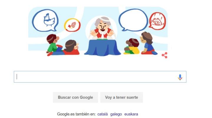 Imagen - Google homenajea a Gloria Fuertes con un Doodle