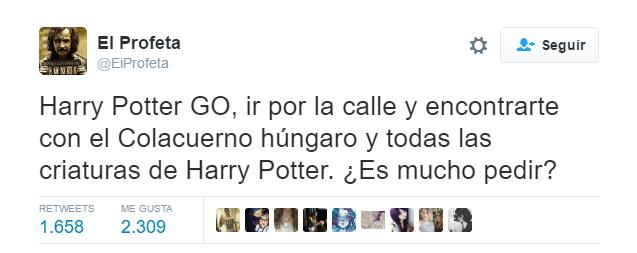 """Imagen - Los usuarios quieren un """"Harry Potter Go"""" como Pokémon Go"""