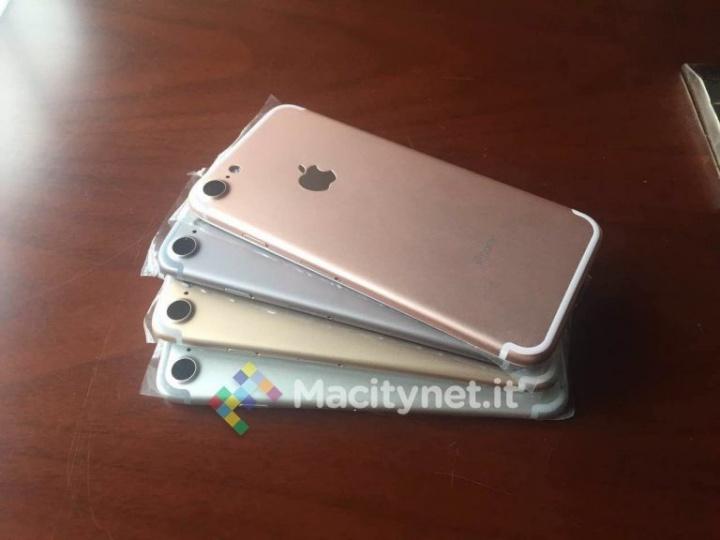 Imagen - Filtrados los posibles colores del iPhone 7