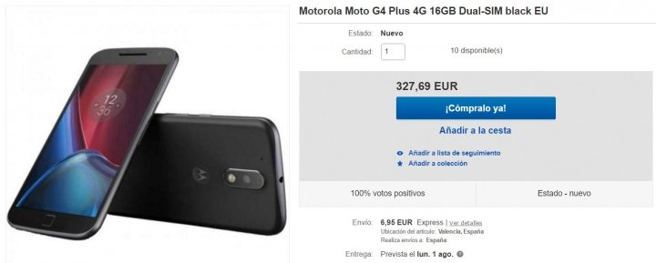 Imagen - Dónde comprar el Moto G4 Plus