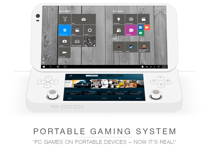 Imagen - PGS, una consola portátil con Windows 10 y Android
