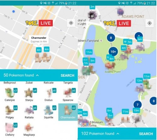 Imagen - Detecta pokémons a tu alrededor en tiempo real gracias a Poke LIVE