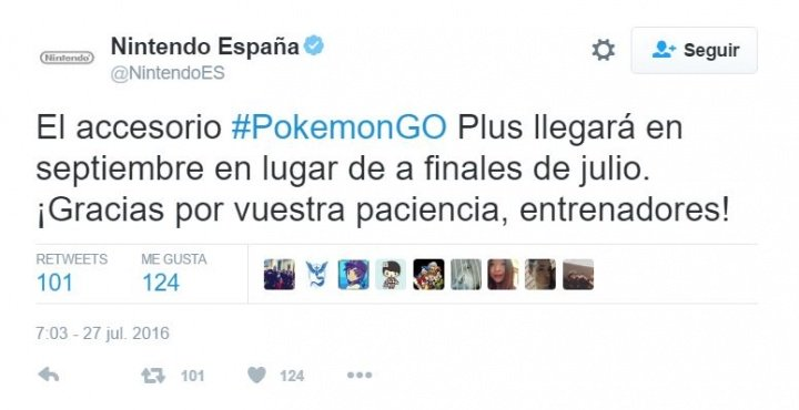 Imagen - La pulsera Pokémon Go Plus se retrasa hasta septiembre