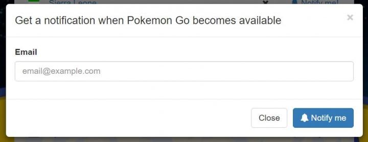 Imagen - ¿Cuándo estará disponible Pokémon Go para mi país?