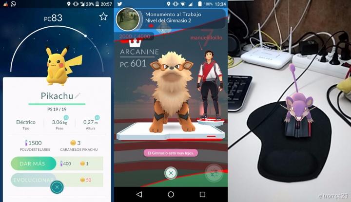 Imagen - Pokémon Go se actualizará con intercambio de Pokémon y mejoras en la cámara RA