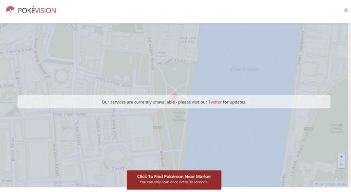Imagen - PokéVision, PokéHound y otras apps no oficiales dejan de funcionar