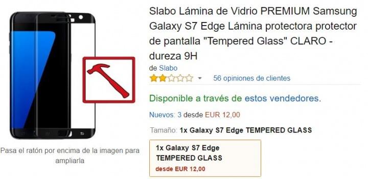 Imagen - 7 protectores de pantalla para el Samsung Galaxy S7 Edge