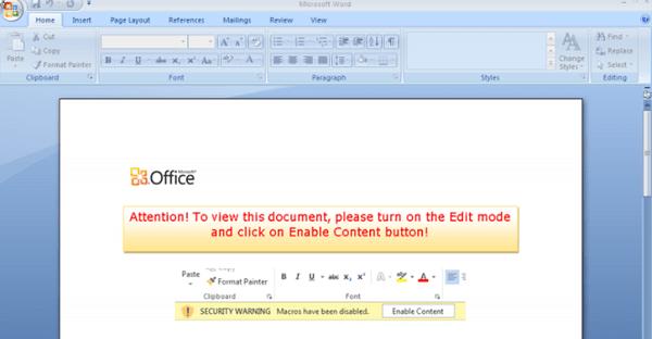 Imagen - Un nuevo ransomware se oculta en archivos de Office