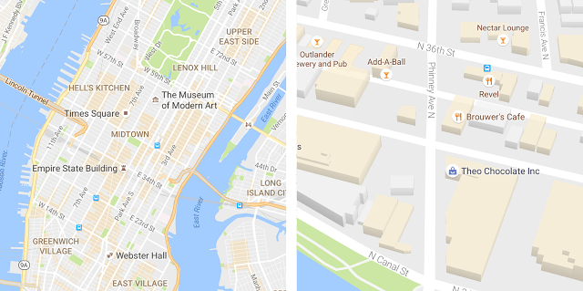 Imagen - Google Maps cambia los colores del mapa