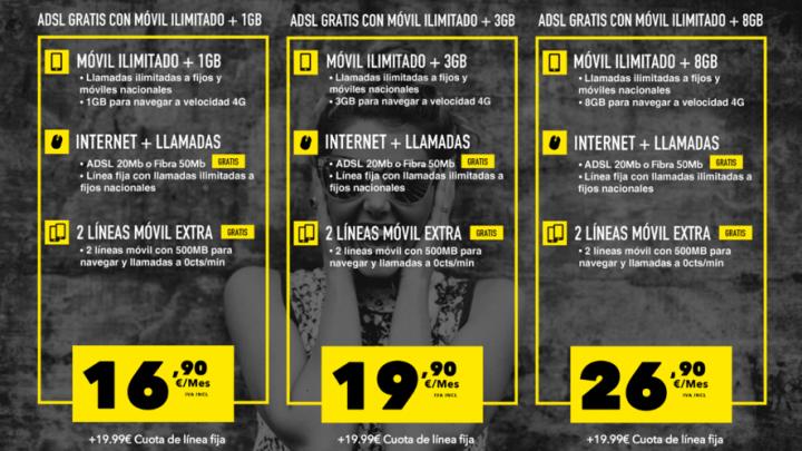 Imagen - MásMóvil extiende su oferta de fibra gratuita