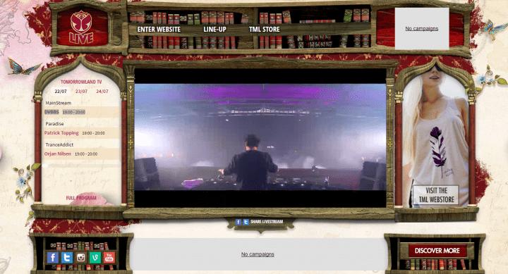 Imagen - Cómo seguir online Tomorrowland