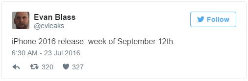 Imagen - iPhone 7 e iPhone 7 Plus llegarían en la segunda semana de septiembre